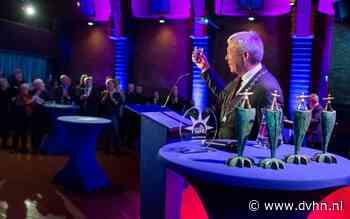 Burgemeester Koos Wiersma gaf zijn eerste en tevens laatste nieuwjaarstoespraak in Appingedam