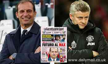 Manchester United could miss out on Max Allegri with AC Milan wanting Italian boss