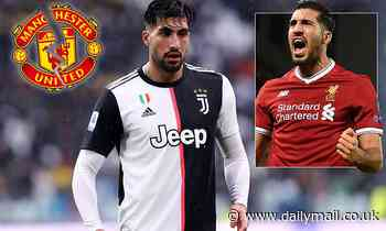 Emre Can 'rules out January move to Manchester United' out of respect for his old club Liverpool