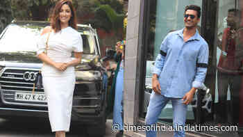 Bollywood heartthrob Vicky Kaushal spotted wearing casual attire, Yami Gautam clicked in white body fit dress