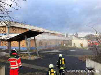 Bettenhausen: Brand in ehemaliger Schule