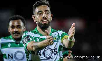 Manchester United 'open talks with Sporting Lisbon over midfielder Bruno Fernandes'