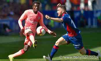 Leicester City 'eye Barcelona right-back Moussa Wague'