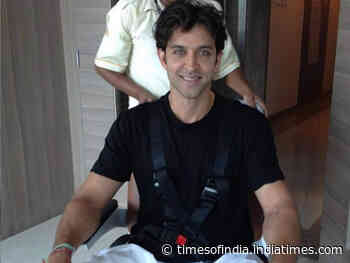 Pinkie shares 'unseen images' of Hrithik