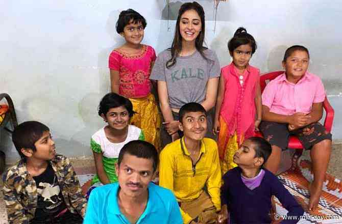 Ananya Panday's visit to the differently-abled children in Wai will warm your hearts