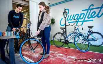 Swapfiets maakt verlies van ruim 11 miljoen (ook al stikt het in Groningen van de populaire blauwe voorbanden)