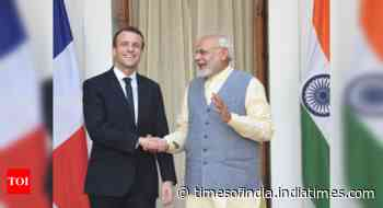 Modi, Macron discuss bilateral issues, global situation