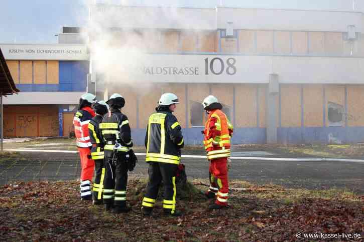 Brand in Eichendorff-Schule gelöscht: Brandquelle steht fest