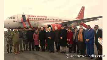 15-member foreign delegation on J&K visit says `interaction with locals positive`