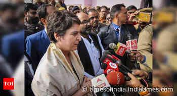 Priyanka meets anti-CAA activists in Varanasi, says govt acting against Constitution