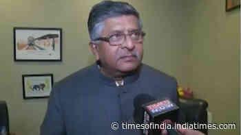 JNU students must study, not indulge in violence: Union minister Ravi Shankar Prasad