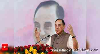 Economy in bad shape, `tax terrorism' should be curbed: Subramanian Swamy