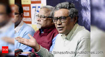 Activists of a political party behind protest by Visva-Bharati students: Swapan Dasgupta
