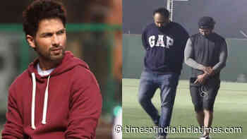 Shahid Kapoor gets injured on the sets of 'Jersey'