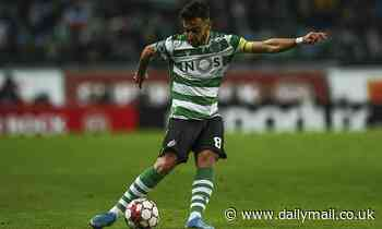 Sporting Lisbon president 'travels to England as Man United's move for Bruno Fernandes edges closer'