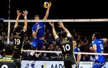 Volleyballers Lycurgus kansloos ten onder in topper tegen Dynamo in Martiniplaza