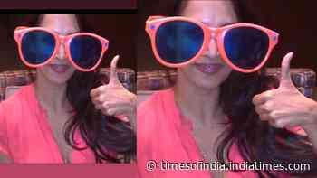 Malaika Arora looks cute as a button in this oversized sunglass, shares hilarious picture