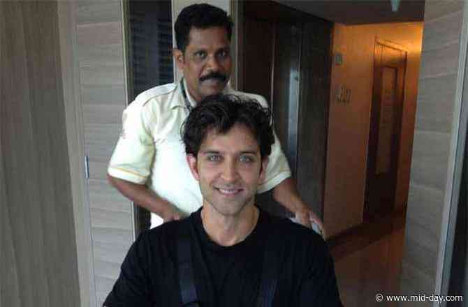 Pinkie Roshan shares heartbreaking pictures of son Hrithik Roshan's brain surgery