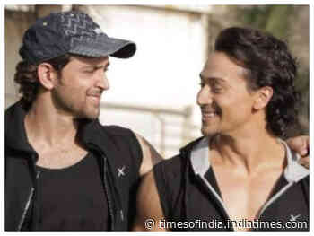 Tiger shares pic from Hrithik's b'day bash