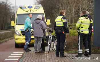 Fietser gewond bij botsing met auto op de Groningerstraat