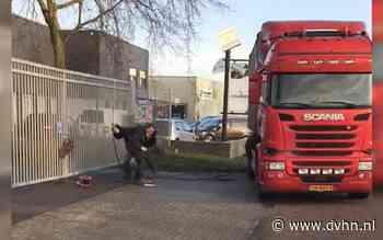 Kijk hier de beelden van aanval met snijbrander door afvalverwerker Albert T. in Meppel (slachtoffer ernstig gewond)
