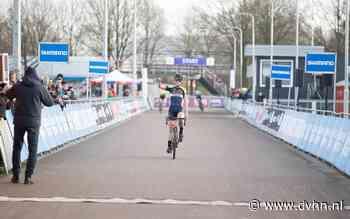 Veldrijder David Haverdings uit Zuidlaren wordt Nederlands kampioen bij nieuwelingen: 'Ik kwam alleen voor de titel naar Rucphen'