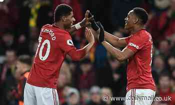 Manchester United 4-0 Norwich: Marcus Rashford scores two in easy win