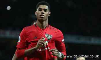 Marcus Rashford marks 200th appearance with double against Norwich
