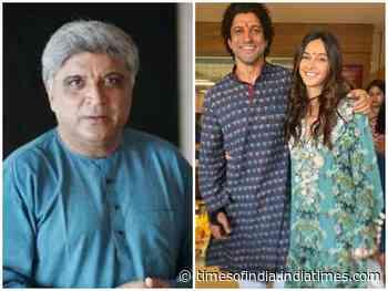 Javed Akhtar reacts to Farhan-Shibani marriage