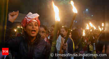 Protests intensify in Assam after Centre notifies CAA