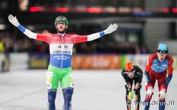 Gary Hekman wint schaatsmarathon in Groningen na sensationele finale