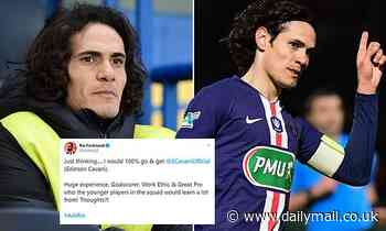 What next for Edinson Cavani as his goal-laden career at PSG comes to a close?