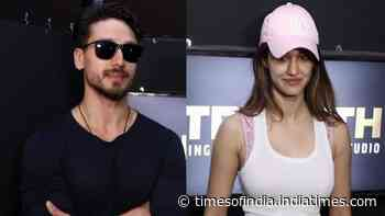 Tiger Shroff, Disha Patani get snapped together at an event