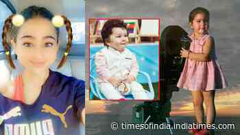 Sara Ali Khan's baby picture leaves fans gushing; netizens call her Taimur Ali Khan's female version
