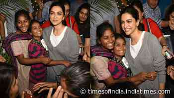 Deepika Padukone's adorable group hug with two little fans is everything pure!