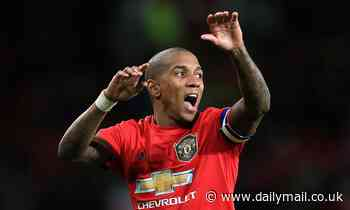 Crystal Palace and Lazio 'join Inter Milan in the race to sign Man United captain Ashley Young'