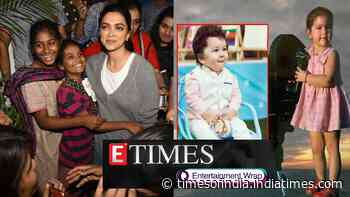 Deepika Padukone gives tight hug to fans outside a restaurant; Fans call Sara Ali Khan 'female version of Taimur' in this childhood pic, and more…