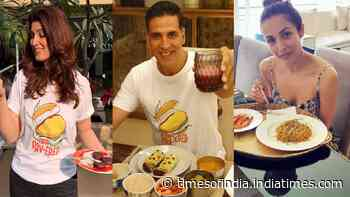 Akshay Kumar, Malaika Arora and Twinkle Khanna ace the #WhatsInYourDabba trend as they share recipes of healthy meals
