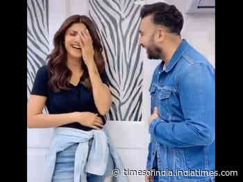 Shilpa & Raj's funny video will crack you up