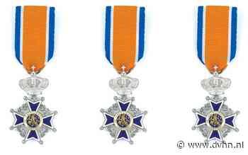 Koninklijke onderscheiding voor drietal vrijwillige brandweer Zoutkamp