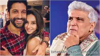 Farhan Akhtar's father Javed Akhtar reacts to rumours of actor's 2020 wedding with Shibani Dandekar, says 'children can be very secretive'