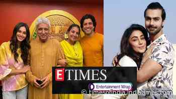 Javed Akhtar opens up about son Farhan Akhtar and Shibani Dandekar's wedding; Ashmit Patel and Maheck Chahal call off engagement, and more…