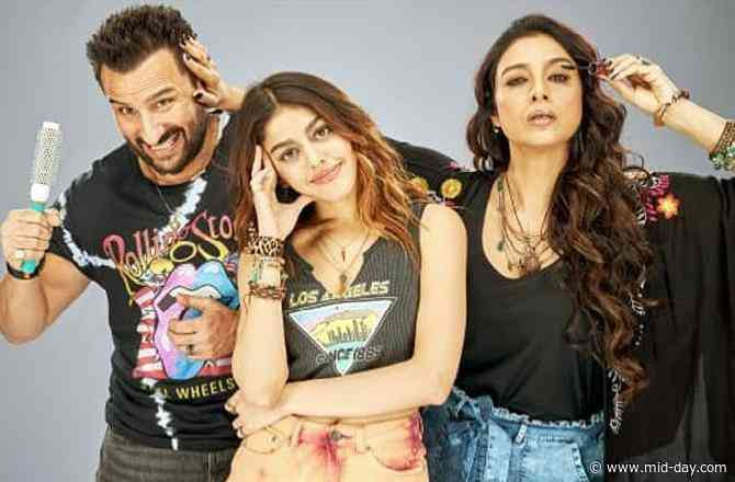 Jawaani Jaaneman: Saif Ali Khan, Tabu, Alaya F's quirky look will leave you intrigued