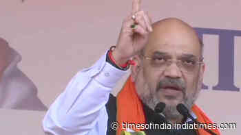 Won't sit quiet till each oppressed refugee from Pakistan gets Indian citizenship: Amit Shah