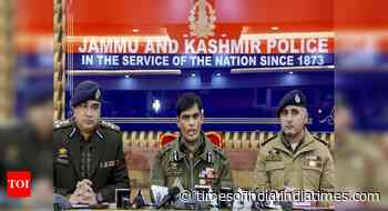 DSP caught with Hizb men will be treated like a terrorist: J&K Police