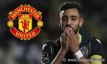 Bruno Fernandes hopes Sporting can repay his loyalty by granting Manchester United move