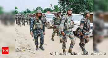 Last Bodo militant group leaves Myanmar, surrenders to Indian authorities