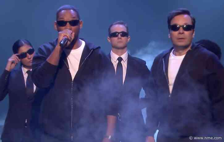 Watch Will Smith rap his entire career history in just 150 seconds with Jimmy Fallon