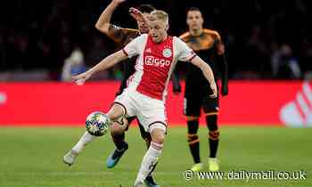 Ajax star Donny van de Beek dismisses links to Manchester United and Real Madrid