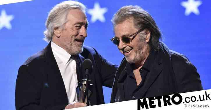 Even Robert De Niro is surprised The Irishman won a Critics' Choice Award after its epic snub